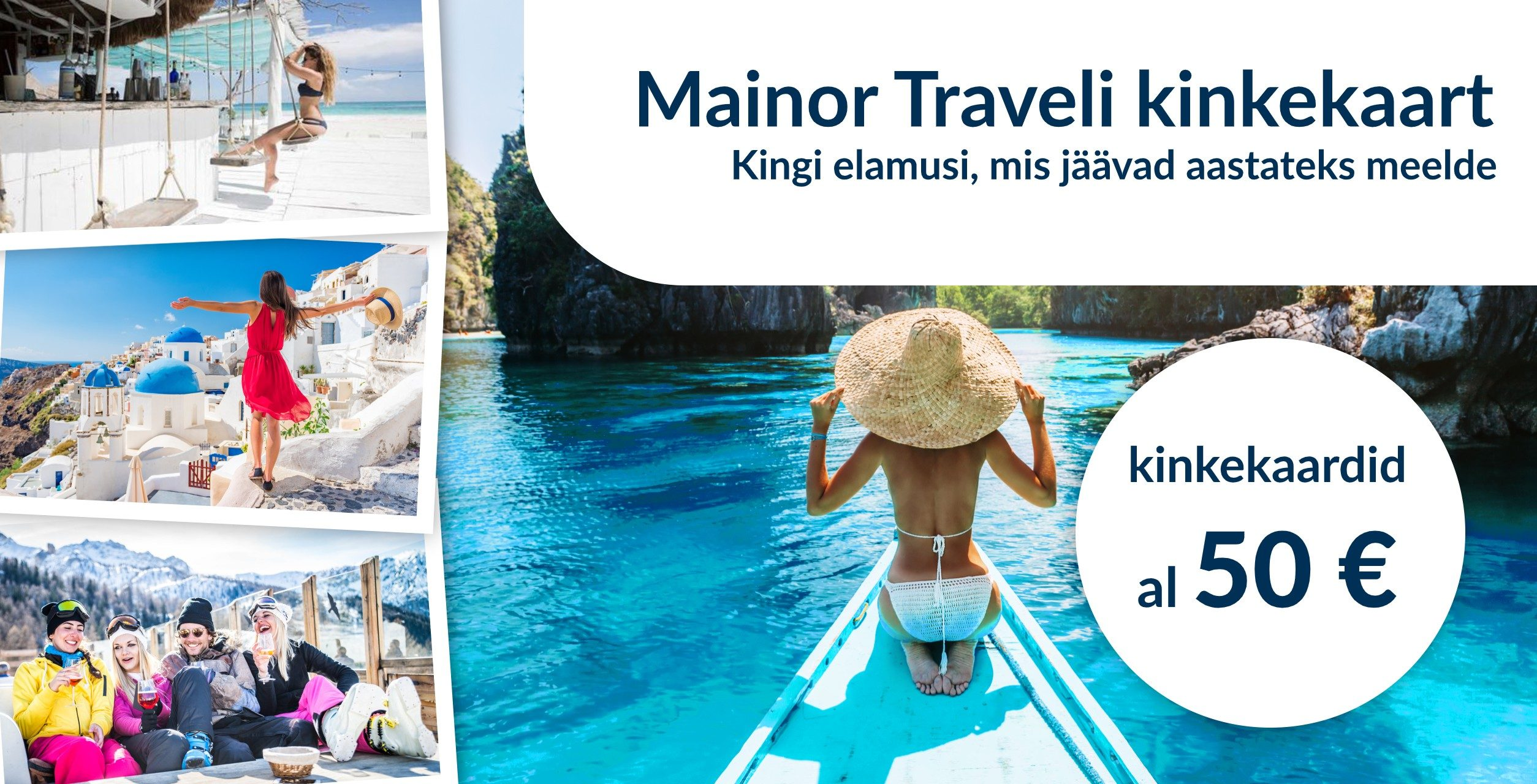mainor travel reisibüroo kinkekaart