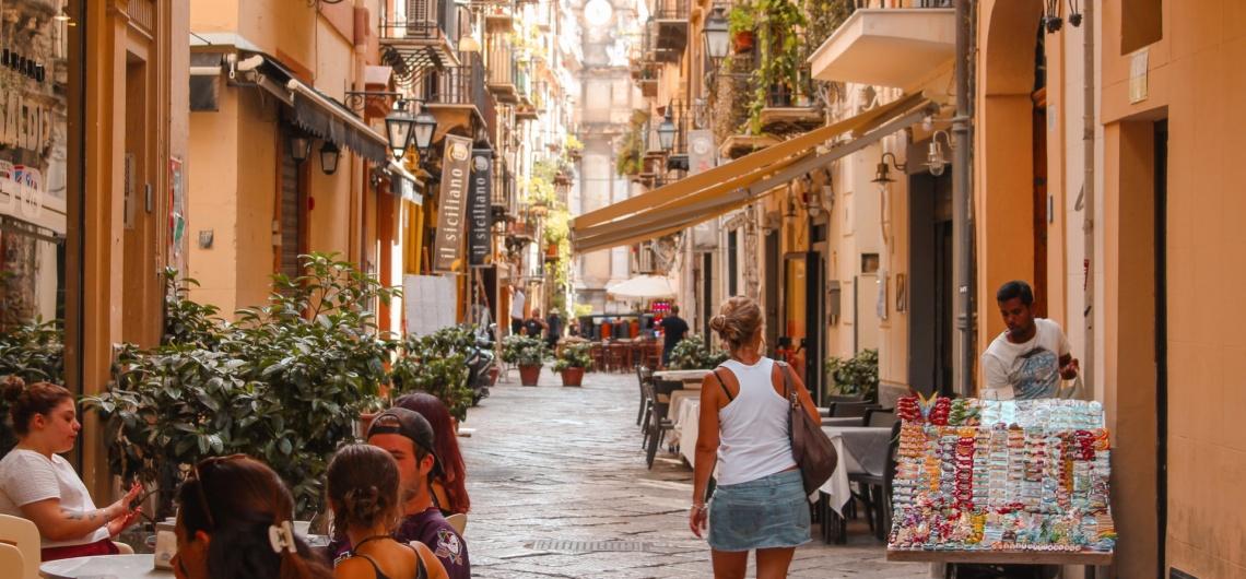 itaaliasse reisimine